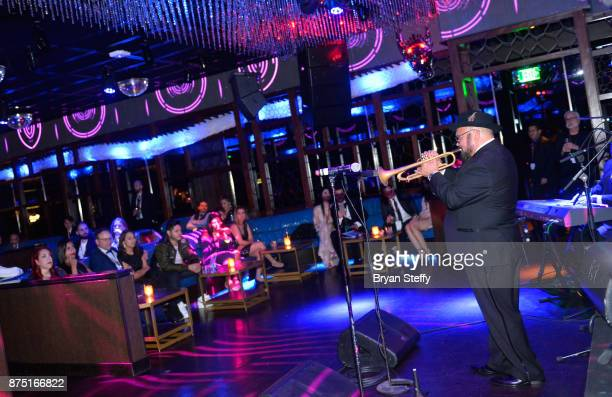Charlie Sepulveda performs at The 18th Annual Latin Grammy Awards after party at Hakkasan Las Vegas Restaurant and Nightclub at MGM Grand Hotel...