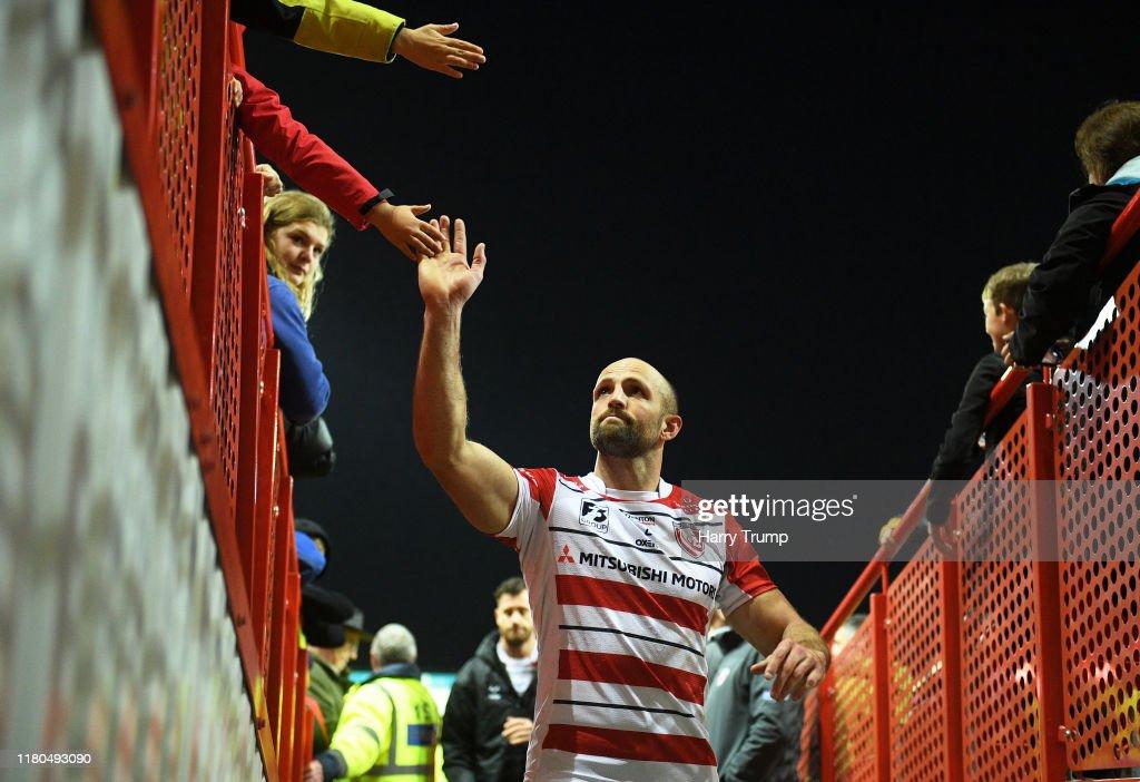 Gloucester v Bath - Premiership Rugby Cup : News Photo