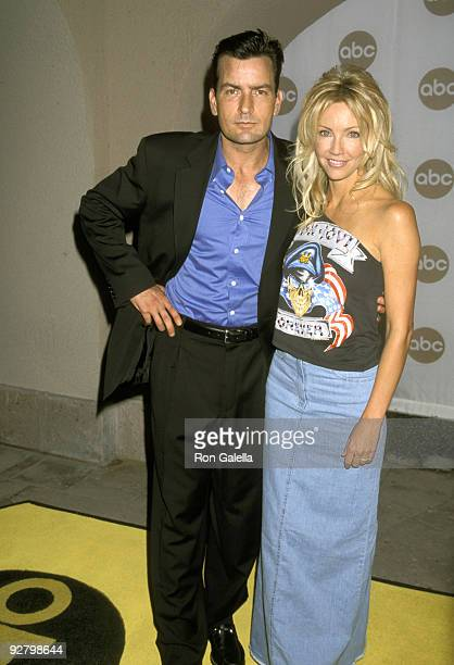 Charlie Sheen and Heather Locklear