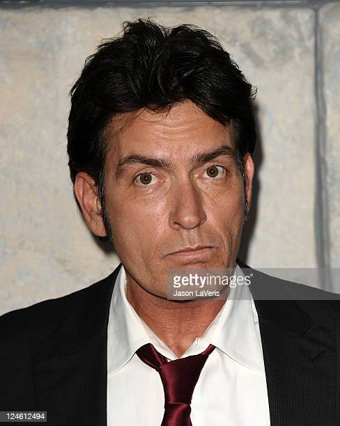Charlie Sheen attends Comedy Central's Roast of Charlie Sheen at Sony Studios on September 10 2011 in Los Angeles California