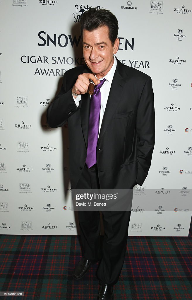 The Snow Queen Cigar Smoker Of The Year Awards 2016 : News Photo