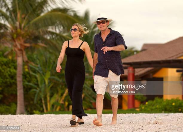 Charlie Sheen whisked Brooke Mueller off for a romantic weekend at the Four Seasons in Punta Mita, Mexico to celebrate Brooke's birthday at Four...