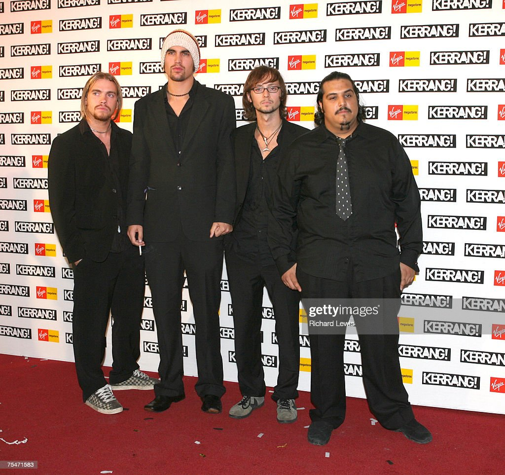 Kerrang! Awards 2006 - Arrivals : News Photo