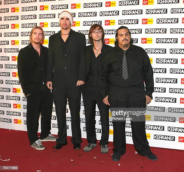 Charlie Simpson and Fightstar at the The Brewery in London United Kingdom