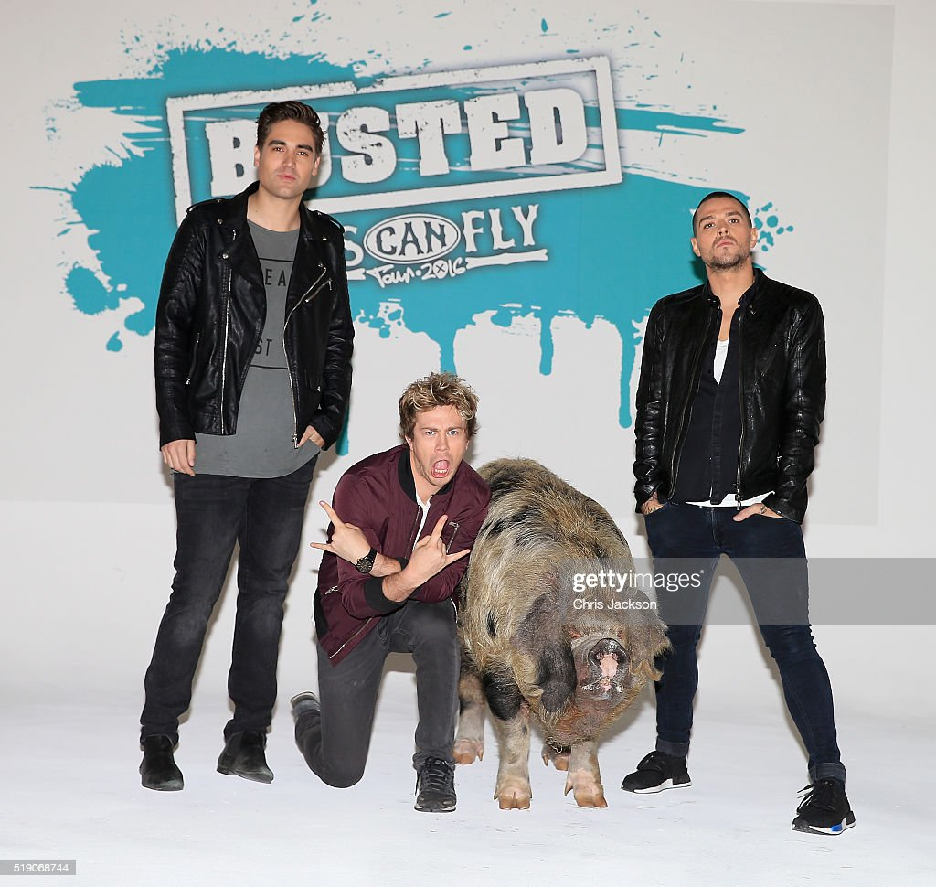 Busted Announce Comeback Arena Tour - Photocall