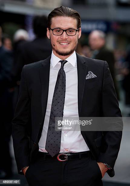 Charlie Sims attends the European premiere of 'Godzilla' at the Odeon Leicester Square on May 11 2014 in London England