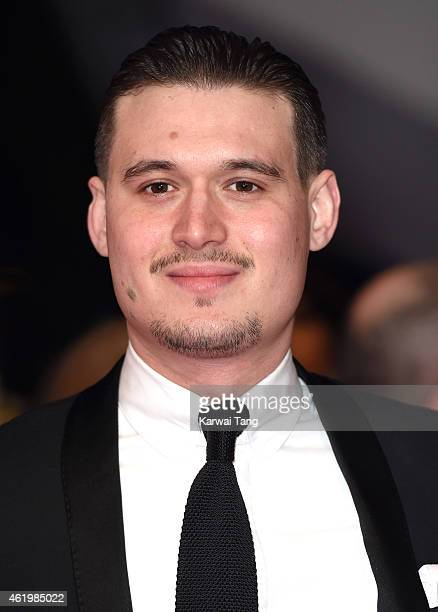 Charlie Sims attends the National Television Awards at 02 Arena on January 21 2015 in London England