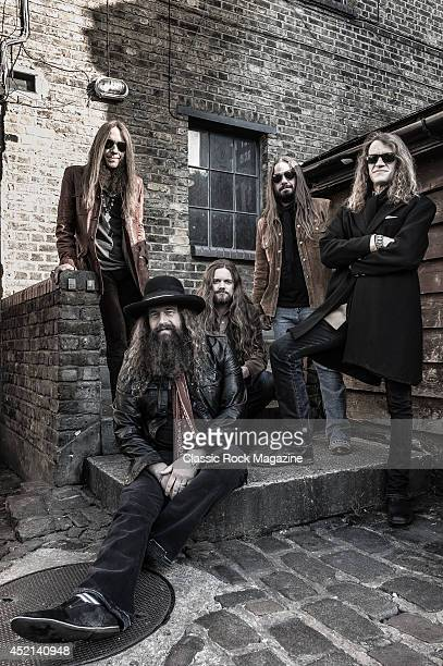Charlie Starr Brit Turner Brandon Still Paul Jackson and Richard Turner of American country rock group Blackberry Smoke taken on November 15 2013