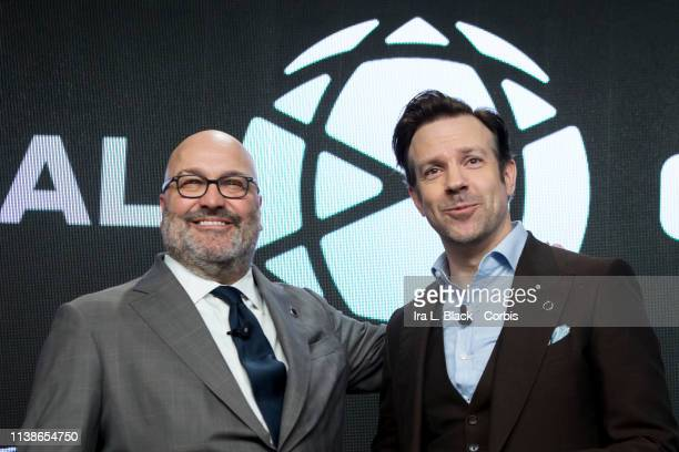 Charlie Stillitano, Executive Chairman of Relevent Sports and Jason Sudeikis actor during the Relevent Sports International Champions Cup Tournament...