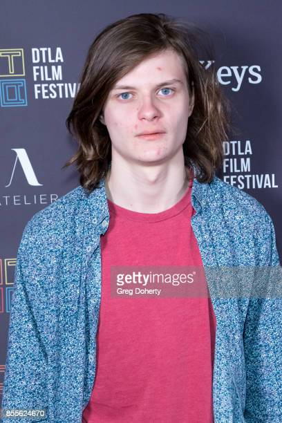 Charlie Tahan arrives for the DTLA Film Festival Premiere Of The Orchard's Super Dark Times at Regal 14 at LA Live Downtown on September 25 2017 in...