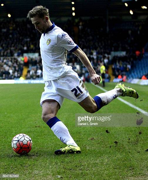 Charlie Taylor of Leeds United FC during The Emirates FA Cup Third Round match between Leeds United and Rotherham United at Elland Road on January 9...
