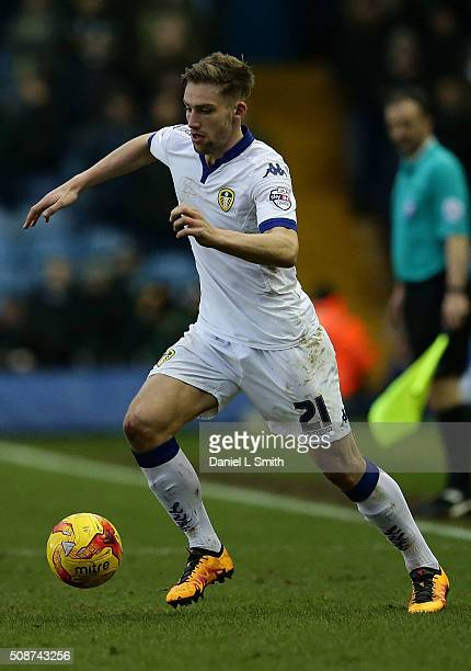 Charlie Taylor of Leeds United FC during the Sky Bet Championship match between Leeds United and Nottingham Forest on February 6 2016 in Leeds United...