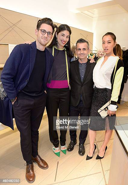 Charlie Teasdale Caroline Issa Massimo Nicosia and Yi Zhou attend the Deconstructed Project with a private dinner hosted by Caroline Issa David...