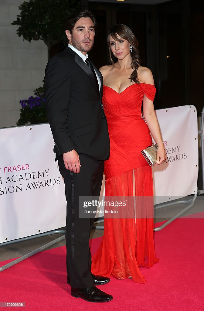 Charlie Thomson (L) and Alex Jones attends the After Party dinner for the House of Fraser British Academy Television Awards at The Grosvenor House Hotel on May 10, 2015 in London, England.