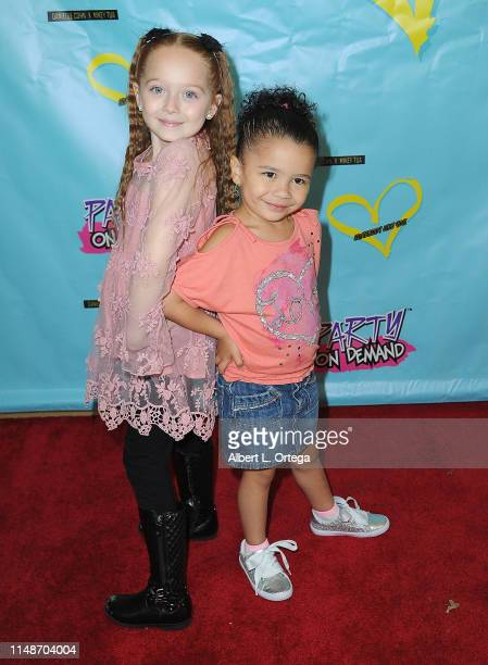 Charlie Townsend and Serenity Russell attend the Release Party For Dani Cohn And Mikey Tua's Song Somebody Like You held at The Industry Loft on June...