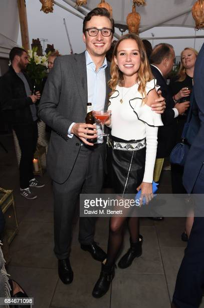 Charlie van Straubenzee and Daisy Jenks attend the Gentleman's Journal Bermuda 35th America's Cup summer party, hosted by Jack Guinness, at Ham Yard...