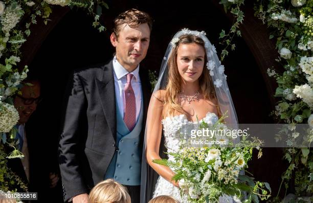 Charlie Van Straubenzee and Daisy Jenks get married on August 4 2018 in Frensham United Kingdom Prince Harry attended the same prep school as Charlie...