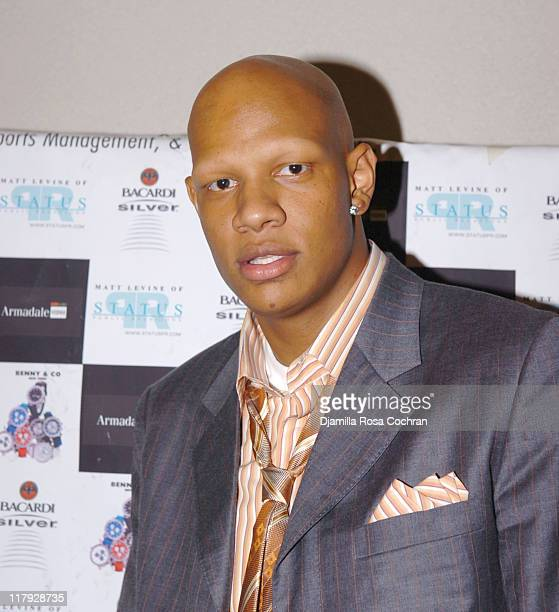 Charlie Villanueva during Hakim Warrick and Raymond Felton's Draft Party at Glo June 28 2005 at Glo in New York City New York United States