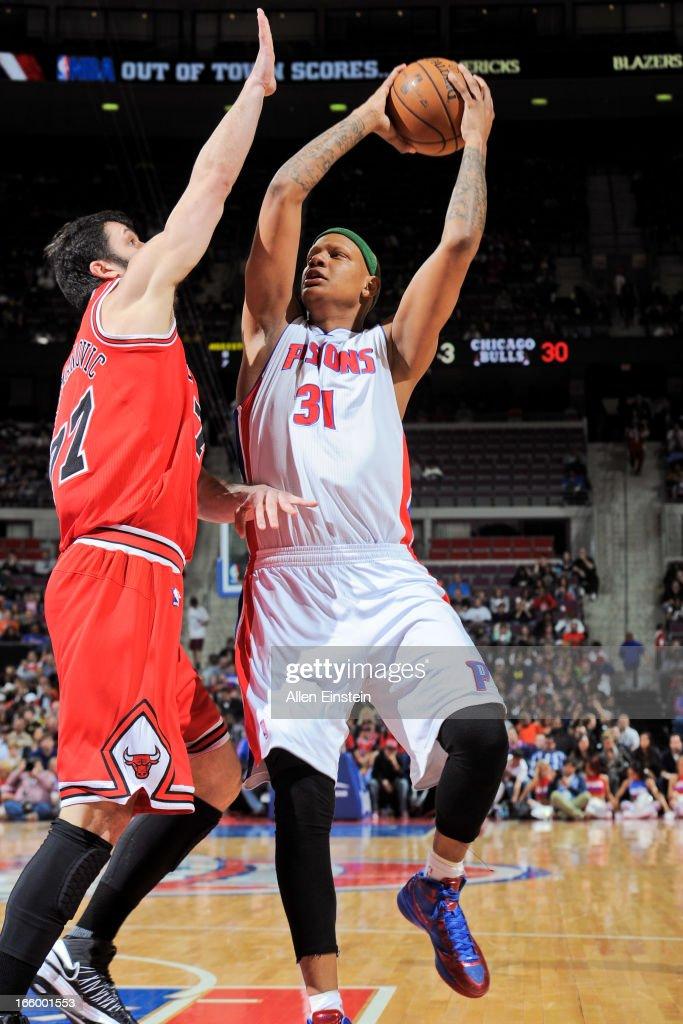 Chicago Bulls v Detroit Pistons