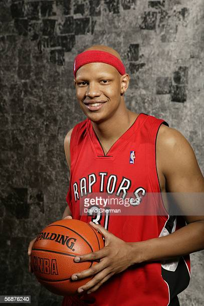 Charlie Villanueva of the Toronto Raptors poses during the Sophomore/Rookie Portraits prior to TMobile Rookie Challenge on February 17 2006 at the...