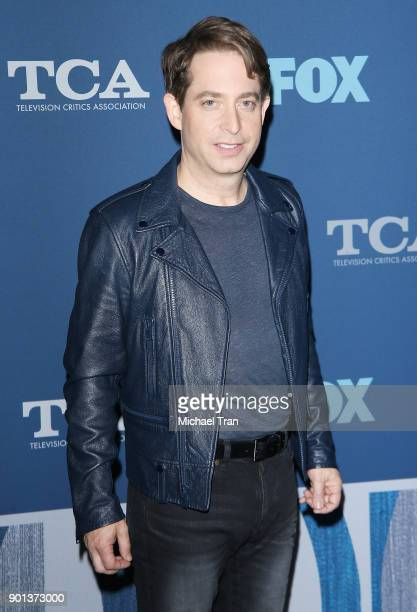 Charlie Walk arrives at the 2018 Winter TCA Tour FOX AllStar Party held at The Langham Huntington on January 4 2018 in Pasadena California