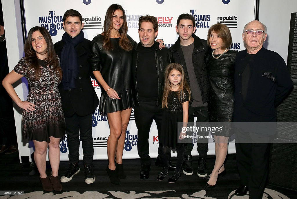 Charlie Walk, Lauran Walk and family attend Musicians On