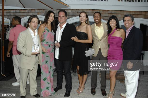 Charlie Walk Lauren Walk Tony DiSanto Shirine DiSanto Nick Cannon Heide Banks and Mitch Rosenthal attend Phoenix House Summer Party at Home of Margie...