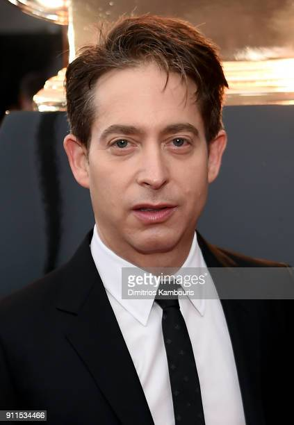 Charlie Walk of Republic Records attends the 60th Annual GRAMMY Awards at Madison Square Garden on January 28 2018 in New York City