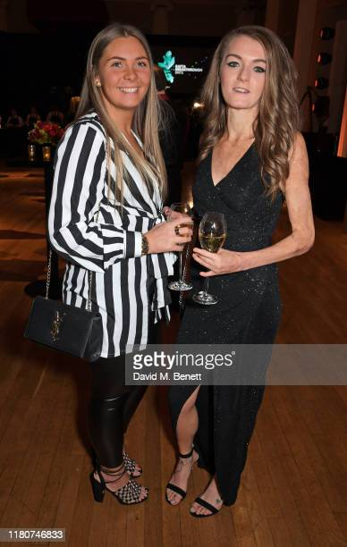 Charlie Ward and Vicky Knight attend the BAFTA Breakthrough Brits celebration event in partnership with Netflix at Banqueting House on November 7...