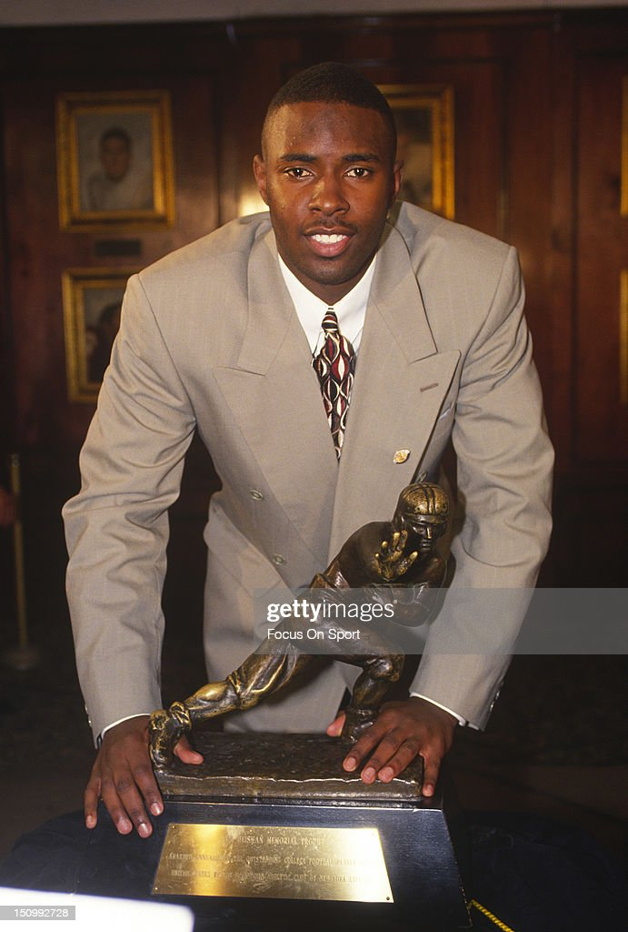 Heisman Trophy Award 1993 : News Photo