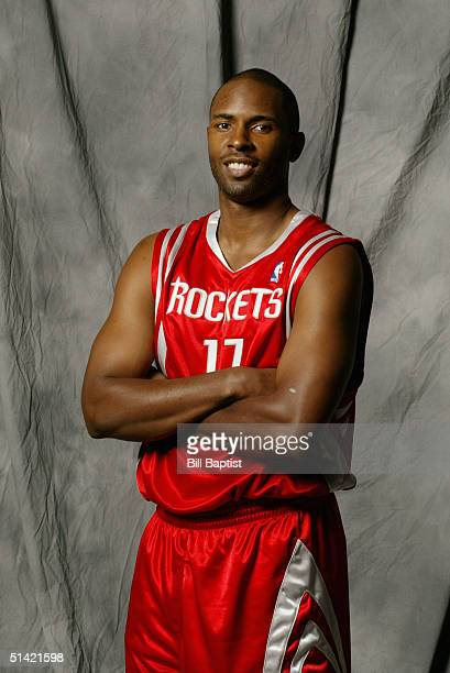 Charlie Ward of the Houston Rockets poses for a portrait during NBA Media Day on October 1 2004 in Houston Texas NOTE TO USER User expressly...