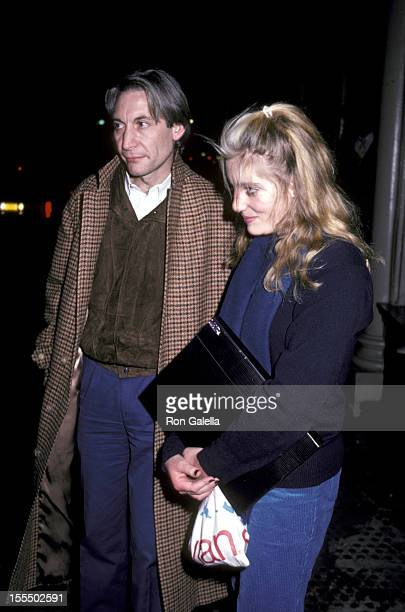 Charlie Watts and daughter Seraphina Watts during Rolling Stones File Photos 1960s1990s in London New York United States