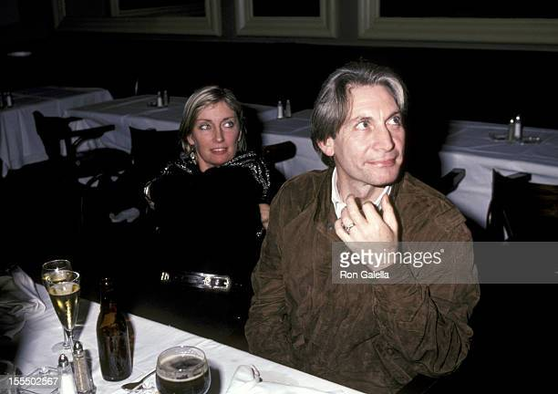 Charlie Watts and wife Shirley Watts during Rolling Stones File Photos 1960s1990s in London New York United States