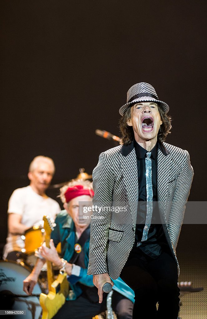 The Rolling Stones Perform At The 02 Arena : News Photo