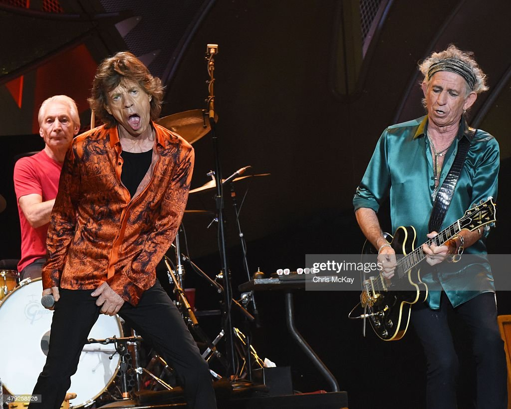 Rolling Stones In Concert - Raleigh, NC : News Photo