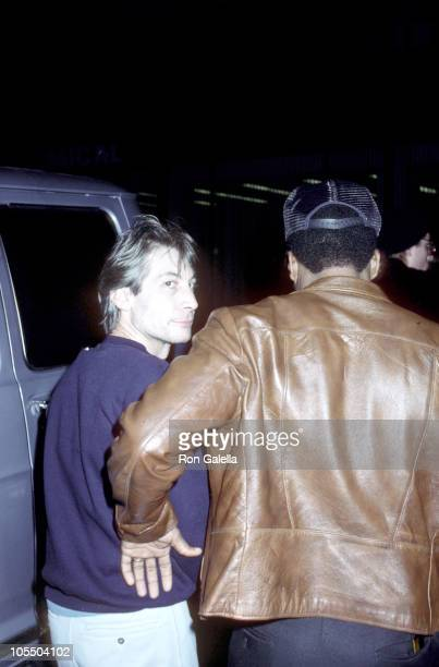 Charlie Watts of the Rolling Stones during Leaving for the Madison Square Garden Concert at Berkshire Hotel in New York City New York United States