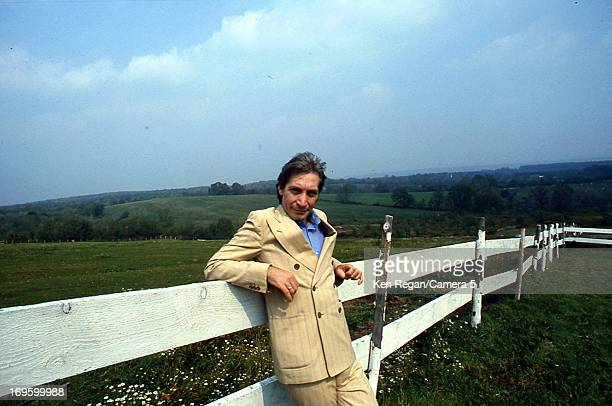 Charlie Watts of the Rolling Stones is photographed at Longview Farm in September 1981 in Worcester Massachusetts CREDIT MUST READ Ken Regan/Camera 5...