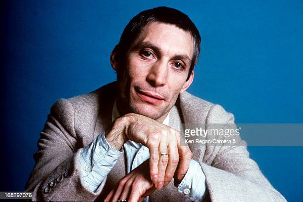 Charlie Watts of the Rolling Stones is photographed at the Camera 5 studios in 1977 in New York City CREDIT MUST READ Ken Regan/Camera 5 via Contour...