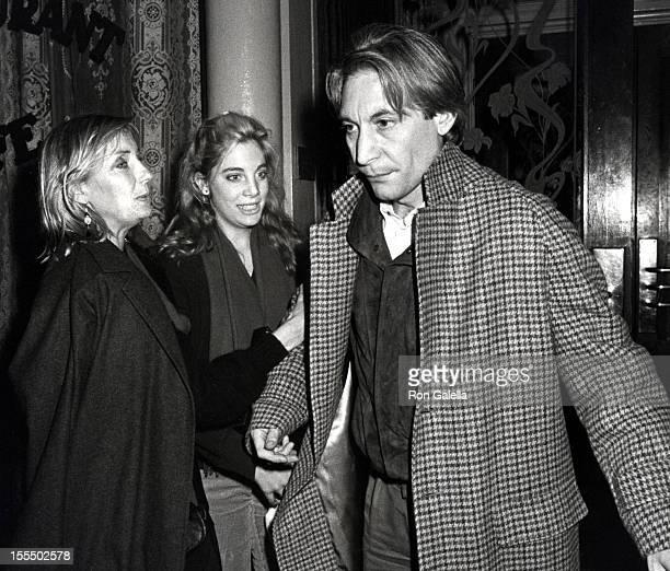 Charlie Watts Wife Shirlee and Daughter Seraphina