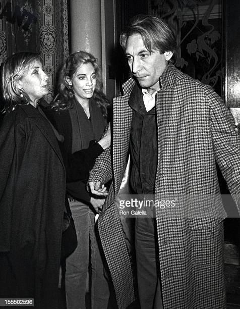 Charlie Watts Wife Shirley and Daughter Seraphina