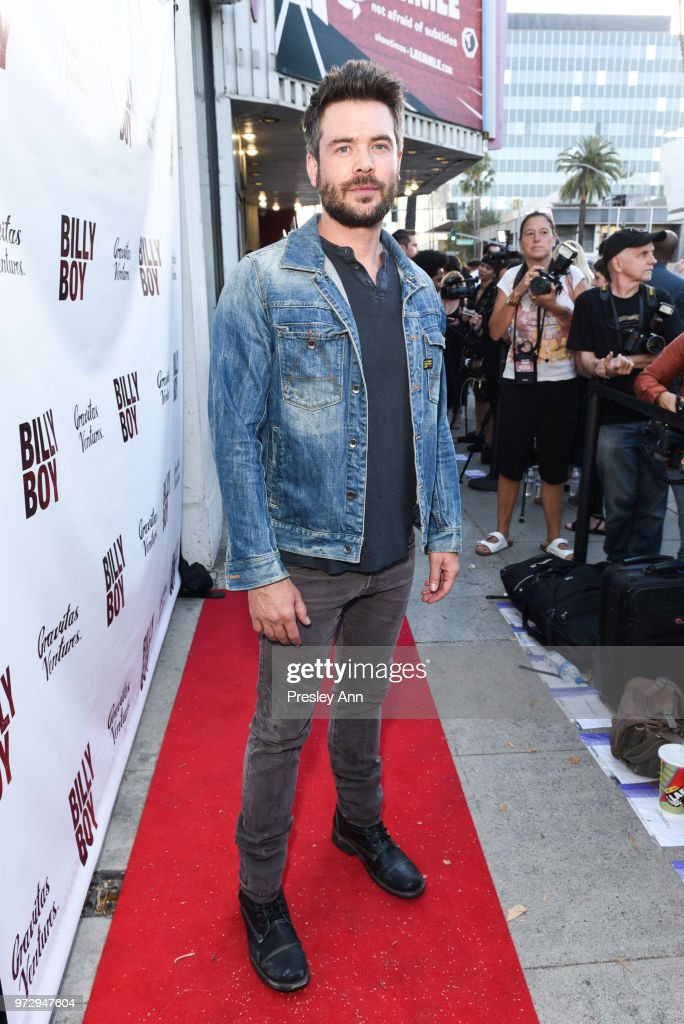 Charlie Weber attends 'Billy Boy' Los Angeles Premiere - Red Carpet at Laemmle Music Hall on June 12, 2018 in Beverly Hills, California.