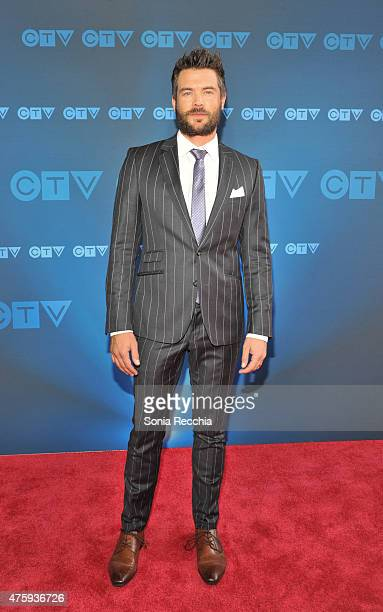 Charlie Weber attends CTV Upfront 2015 Presentation at Sony Centre For Performing Arts on June 4 2015 in Toronto Canada