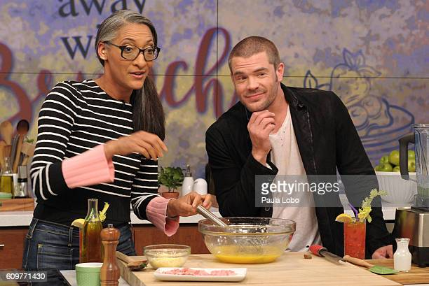 THE CHEW 9/23/16 Charlie Weber of 'How To Get Away With Murder' visits the delicious talk show THE CHEW airing MONDAY FRIDAY on the ABC Television...