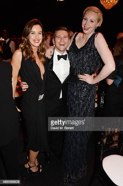 Charlie Webster Allen Leech and Gwendoline Christie attend the BFI London Film Festival IWC Gala Dinner in honour of the BFI at Battersea Evolution...