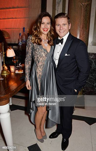 Charlie Webster and Allen Leech attend The Weinstein Company Entertainment Film Distributor StudioCanal 2015 BAFTA After Party in partnership with...
