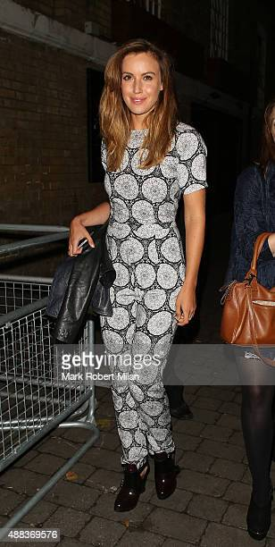 Charlie Webster attending Comedy Central's FriendsFest launch at the Boiler House on September 15 2015 in London England