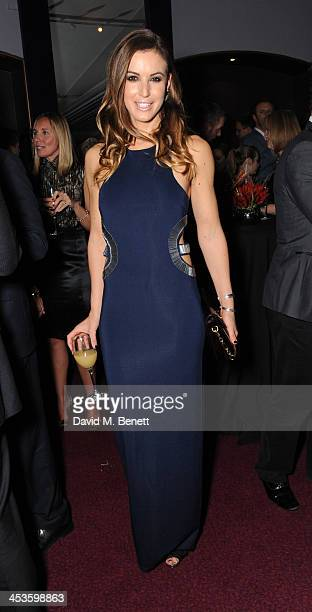 Charlie Webster attends Best Beginnings at the grand opening of The Statoil Masters Tennis at Royal Albert Hall on December 4 2013 in London England