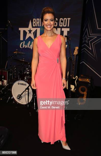 Charlie Webster attends the Britain's Got Talent Childline Ball at Old Billingsgate Market on September 28 2017 in London England