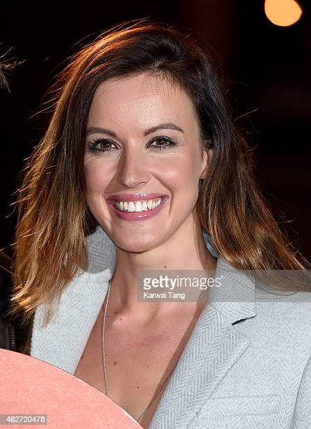 Charlie Webster attends the Centrepoint Ultimate Pub Quiz at Village Underground on February 3 2015 in London England