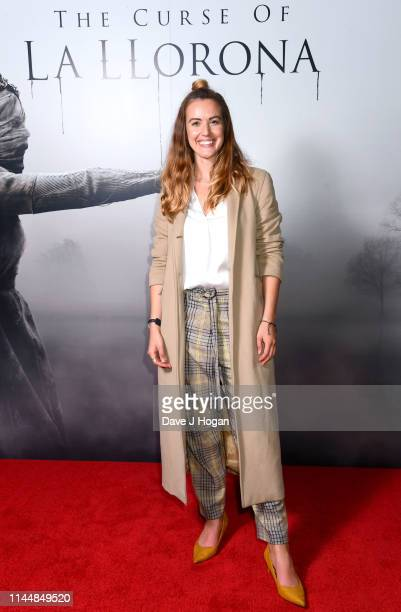 Charlie Webster attends The Curse Of La Llorona at Picturehouse Central on April 24 2019 in London England